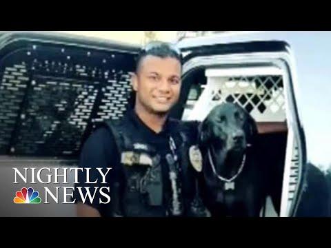 Manhunt For Gunman Suspected Of Killing California Police Officer | NBC Nightly News