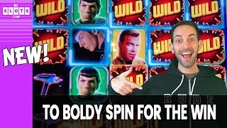 😍MARCO joins BRIAN for NEW 🖖Star Trek🖖Slot! ✦ BCSlots #AD