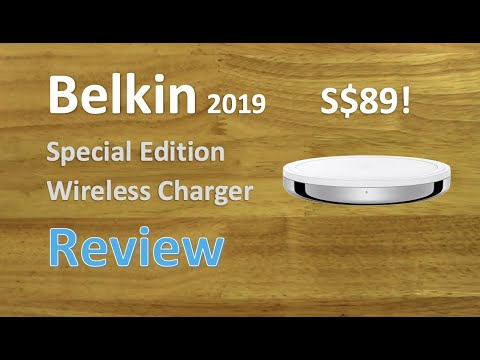 Belkin Special Edition Wireless Charger for iOS (Apple) 2019