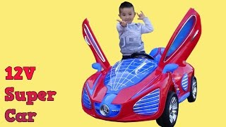 Super Spider Car Battery Powered Ride On Car Test Drive Park Playtime Fun With Ckn Toys