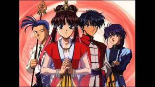 Fushigi Yuugi soundtrack - Tsuki no nai Yoru (Moonless Night) [HQ]