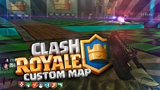 ZOMBIES en CLASH ROYALE!!! | CUSTOM MAP BLACK OPS 3 c/Willy