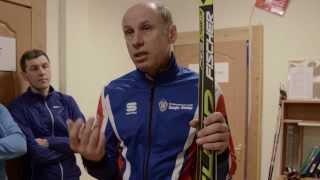 видео Как выбрать беговые лыжи, ботинки и палки