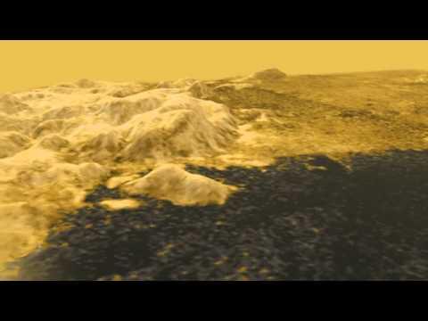 Flyover Titan, Moon of Saturn