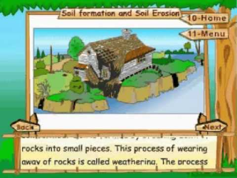 Learn science class 5 rocks soil and minerals soil for Explain the formation of soil