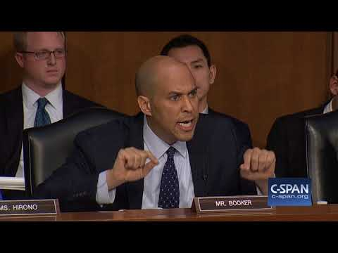 Sen. Booker on language used by Commander-in-cheif (C-SPAN)