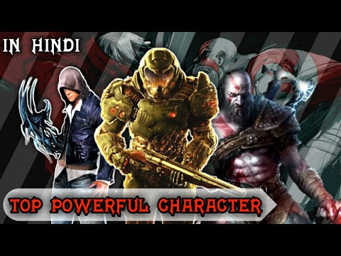 Top 10 Powerful Gaming Characters | Toughest Gaming Characters