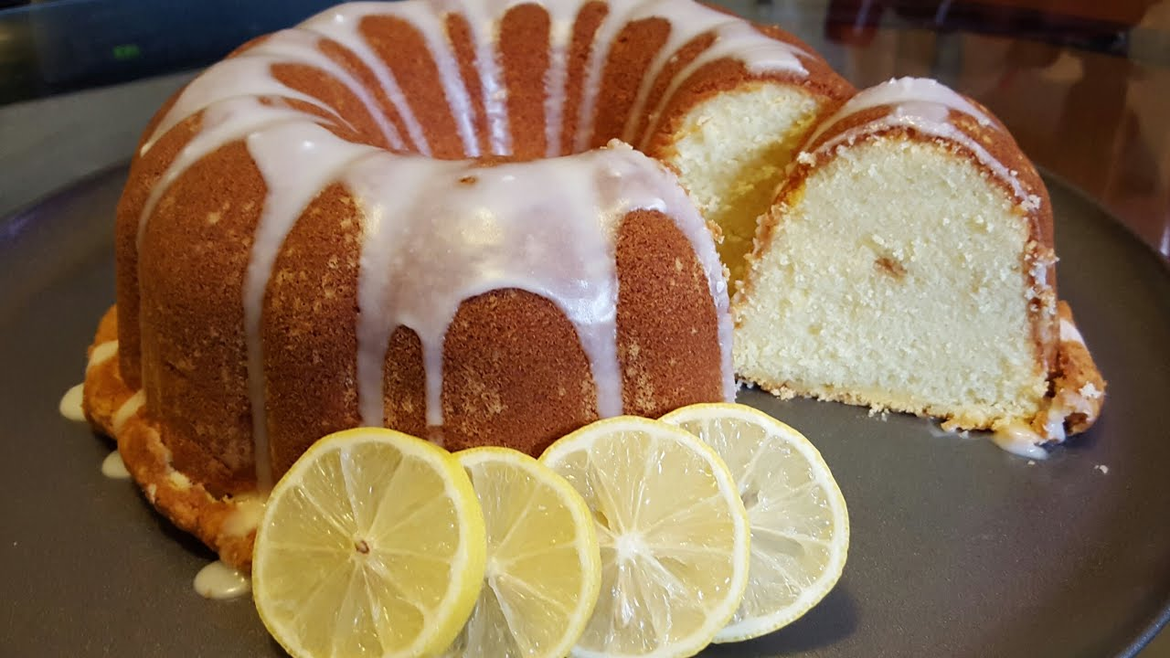 How To Make A Moist Lemon Pound Cake