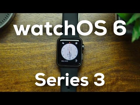 watchOS 6 on Apple Watch Series 3 (2020)