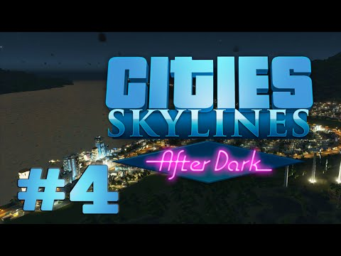 Suburbs and Office Blocks - Cities: Skylines: After Dark, Ep. 4
