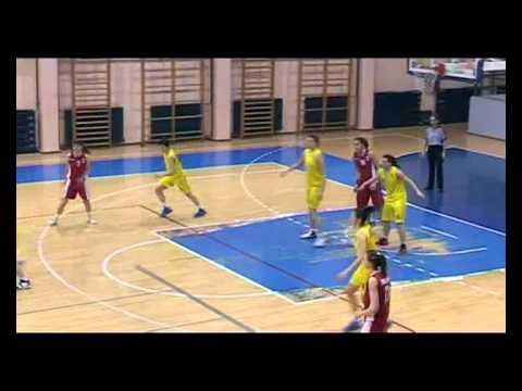 2012/13 1st Women's League of Serbia - Round 20 : Student Nis - Radnicki Kragujevac (58:70)
