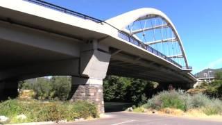 Fleming Memorial Park at the Rogue River Bridge in Oregon
