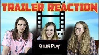CHILD'S PLAY (2019) - Official TRAILER #2 - REACTION #ChildsPlayMovie #Chucky #MarkHammill