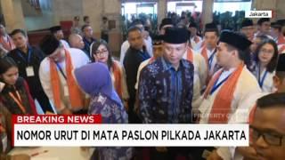 Nomor Urut di Mata Paslon, Ahok, Anies dan Agus Yudhoyono,  dalam Pilkada Jakarta