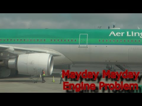 Mayday Mayday Engine Problem Aer Lingus Flight 145