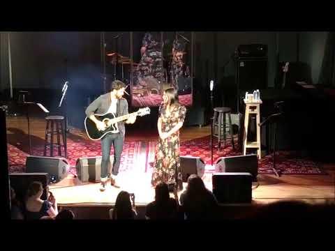 Lea Michele & Darren Criss  Make You Feel My Love LMDC Tour