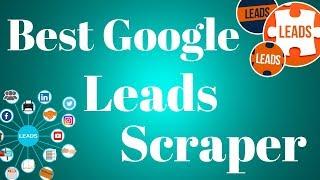 Google maps lead generator data extractor lead generation