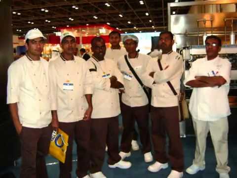 Dubai Emirates salon culinaire 2010 Bateel International LLC team