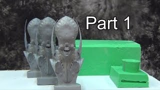 Silicone Mold Making: Multi-Piece Mold Part 1