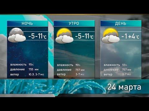 Прогноз погоды на 24-25 марта