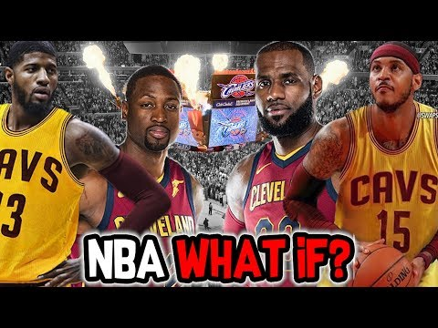 What If The Paul George and Carmelo Anthony trade to The Cleveland Cavaliers went through?