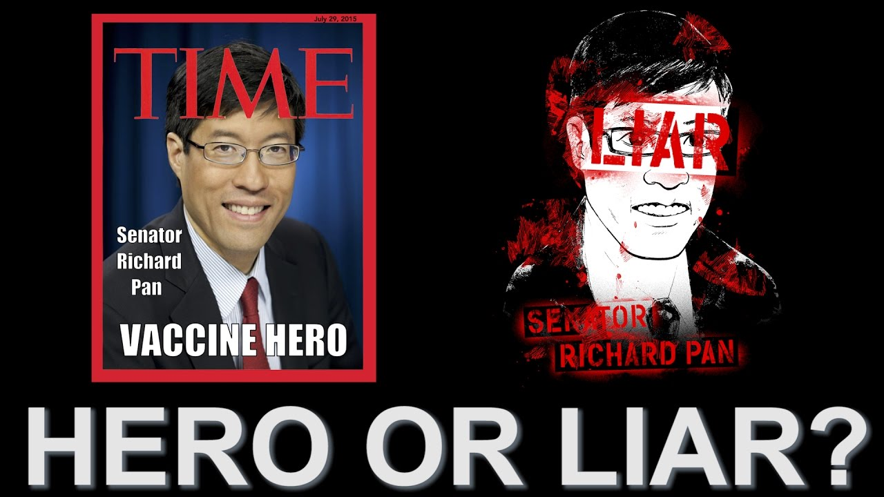 Senator Richard Pan - HERO OR LIAR? - YouTube