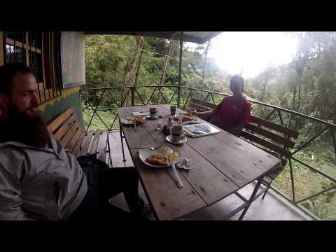 Breakfast Outside Parque Nacional La Amistad, Panama