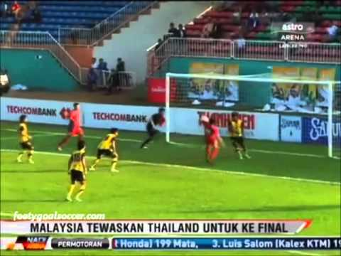 Malaysia U21 vs Thailand U21 (1-0) Piala Newspaper Semi Final 19-10-12