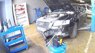 Audi Quattro замена масла в трансмиссии