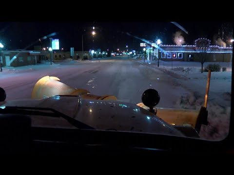 Plow drivers aim to keep roads safe for Montanans