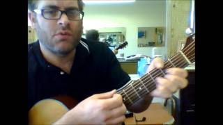 Video How to play All Along The Watchtower by Bob Dylan on acoustic guitar download MP3, 3GP, MP4, WEBM, AVI, FLV Mei 2018