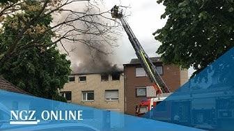 Wohnungsbrand in Grevenbroich