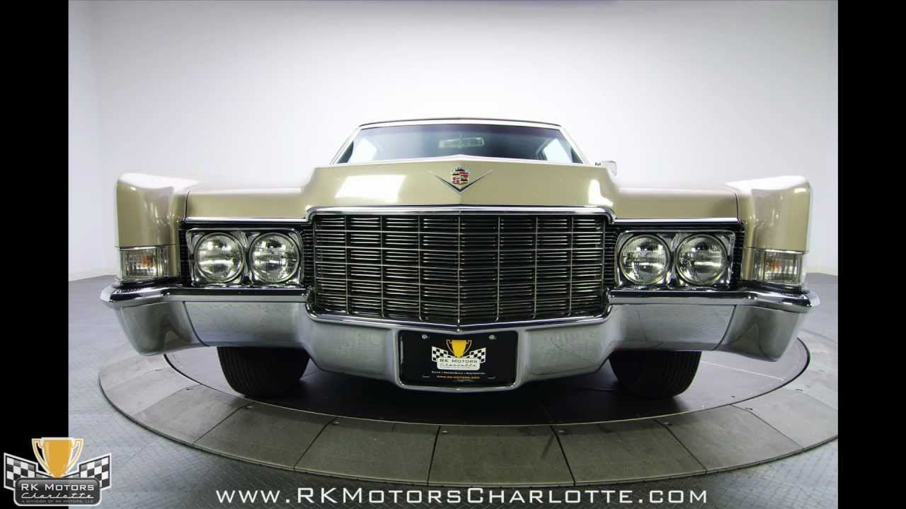 132397 1969 Cadillac Coupe Deville Youtube