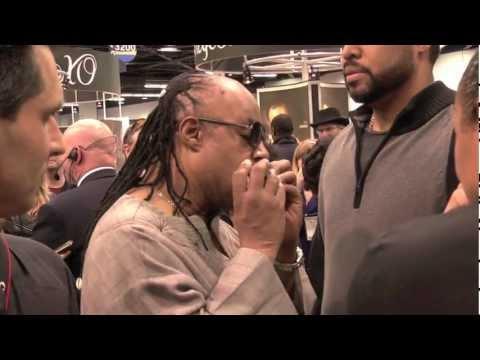Stevie Wonder Likes Seydel Harmonicas, NAMM 2012