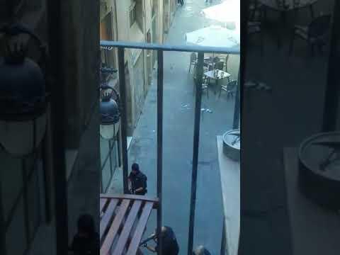 Ação da polícia após atentado em Barcelona