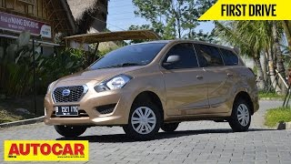 Datsun Go+ MPV | Exclusive First Drive Video Review | Autocar India