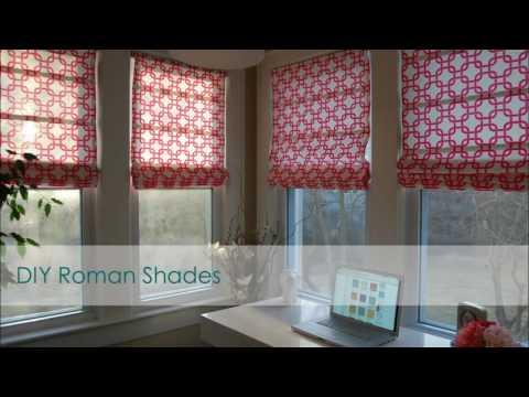 Simple Roman Shades