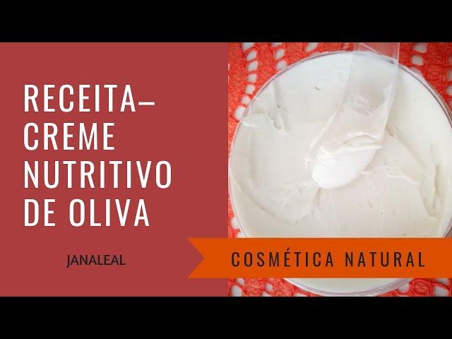 Receita–Creme Hidratante de Oliva