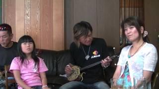 1坪スタジオに大阪から家族で来ました藤本悟さん家族。今回で10回目の...