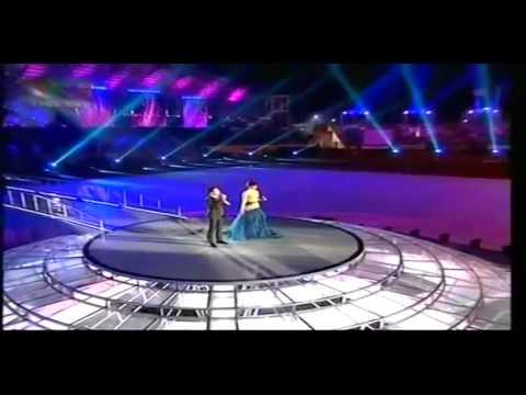 26th Sea Games 2011   Closing Ceremony   Putri Ayu & Daniel Christanto: Harmoni