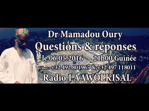 Download Dr  Mamadou Oury Questions & Réponses #5 radio laawol kisal
