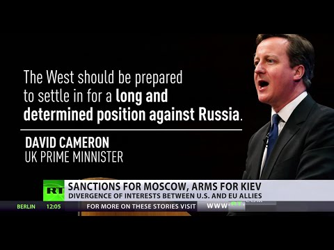 'US is trying to impose new sanctions that will hurt Russia and EU'