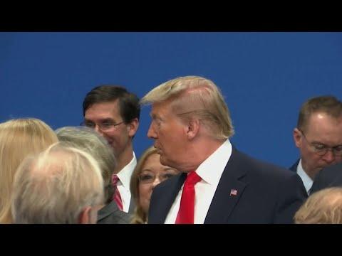 Дональд Трамп отменил пресс-конференцию по итогам саммита НАТО и досрочно покинул форум.