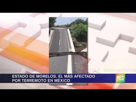 RED+   Estado de Morelos, el más afectado  por terremoto en México