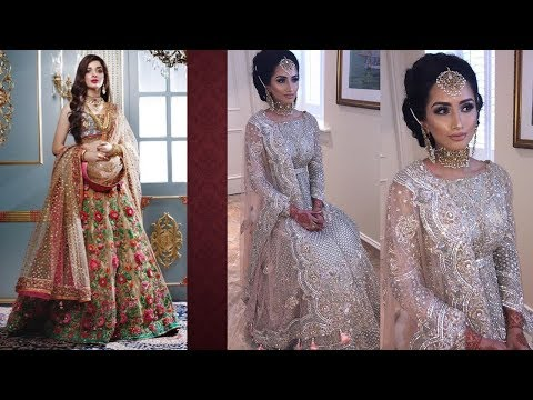 Heavy Work Bridal Dresses 2018