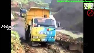 Dump Truck Colt Diesel Ragasa OffRoad Climbing Slope