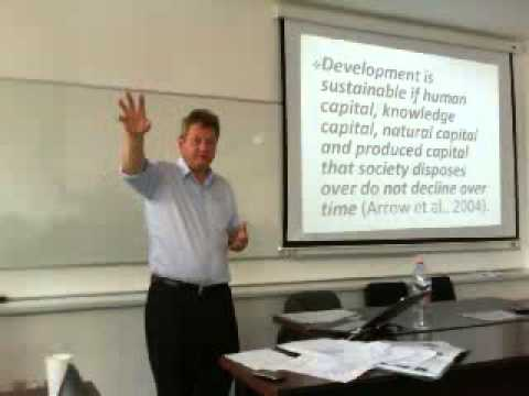 Jens Wandel. The road to sustainable development via green growth