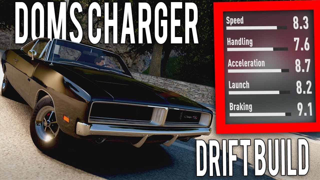 Forza Horizon 2 Fast and furious 7 Drift build Dom's Dodge Charger