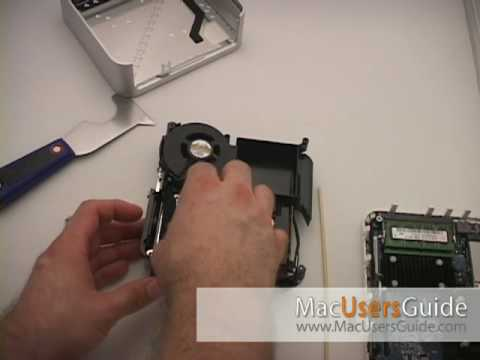 Mac Mini Upgrade: How to replace the hard drive
