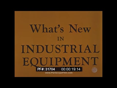 1959 JOHN DEERE TRACTORS & INDUSTRIAL EQUIPMENT  PROMOTIONAL FILM